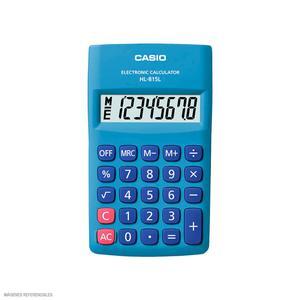 Calculadora 8 Digitos Hl-815L Bu Casio