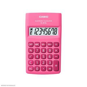 Calculadora 8 Digitos Hl-815L Pk Casio