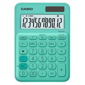 Calculadora Casio Ms-20Uc-Gn Verde