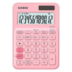 Calculadora Casio Ms-20Uc-Pk Rosa