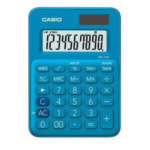 Calculadora Casio Ms-7Uc-Bu Azul