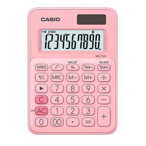 Calculadora Casio Ms-7Uc-Pk Rosa