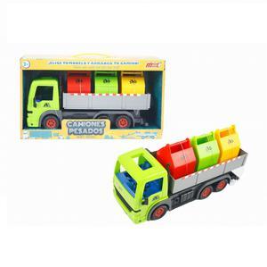 Camión De Basura Y 3 Contenedores Jc-601