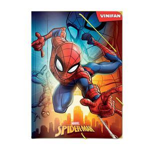 Carpeta De Plástico. Modelo Spiderman