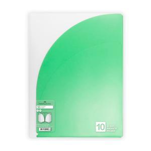 Carpeta Pocket Fold A4 10 Bol Fab Verde
