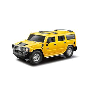 Carro R/C 1:24 Hummer H2 Amarillo