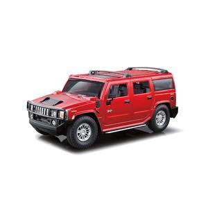 Carro R/C 1:24 Hummer H2 Rojo