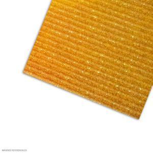Carton Corrugado 50X70 Escarchado - Amarillo