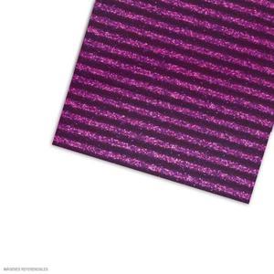 Carton Corrugado 50X70 Escarchado - Lila
