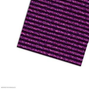 Carton Corrugado 50X70 Escarchado - Morado