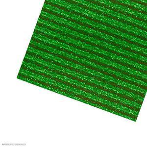 Carton Corrugado 50X70 Escarchado - Verde Claro