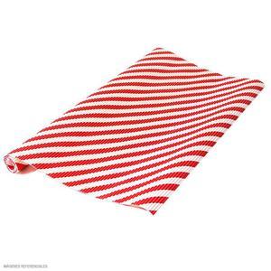 Cartón Corrugado Líneas Rojas