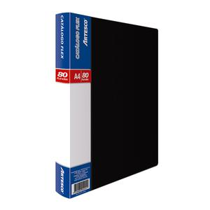 Catalogo Flex 80 Fundas A4 Negro Artesco