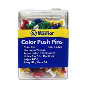 Chinches Push Pins Warrior (Cax100)