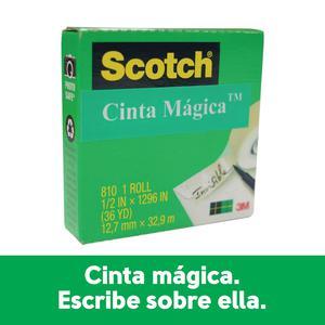 Cinta Mágica N 810 1/2''X36Yds 3M