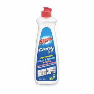 Cloro Gel Triple Accion X500Ml Sapolio