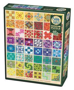 Cobble Hill Rompecabezas 1000Pz Quilt Blocks