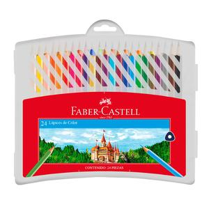 Color X 24L Estuche Rigido Faber-Castell