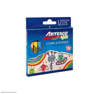Crayones Delgados Artesco