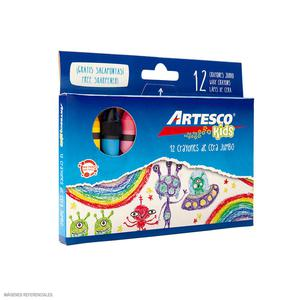 Crayones Jumbo X12 Artesco