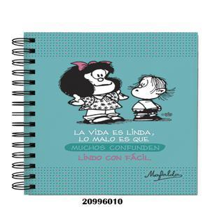 Cuad Anill A5 160H Cuadr Mafalda Td Dg