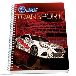 Cuaderno Anillado A-4 160 H Cuadriculado Diseño