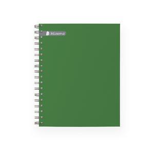 Cuaderno Anillado A-5 Cuadriculado Minerva