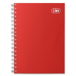 Cuaderno Anillado A5 156H 6D Cuadriculado Solido Td Loro