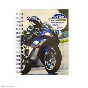 Cuaderno Anillado A-5 Cuadriculado Diseño Hombre Justus