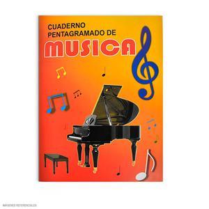 Cuaderno Pentagramado De Música A-4