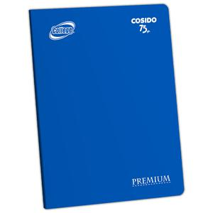 Cuaderno Deluxe A-4 80H Croly  College Azul