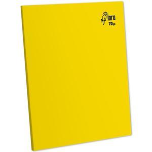 Cuaderno Deluxe A-4 80H Rayado  70G Loro Amarillo