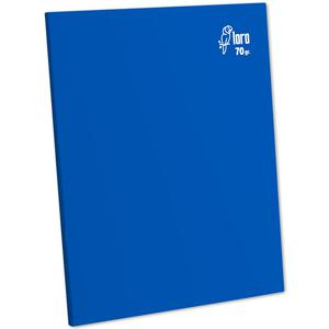 Cuaderno Deluxe A-4 80H Rayado  70G Loro Azul