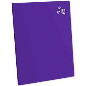 Cuaderno Deluxe A-4 80H Rayado  70G Loro Morado