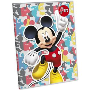 Cuaderno Deluxe 88 Hojas Croly Mickey Y Minnie Loro