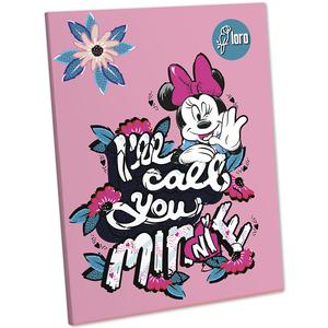 Cuaderno Deluxe 88 Hojas Cuadriculado Mickey Y Minnie Loro