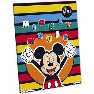 Cuaderno Deluxe 88 Hojas Dbmax Mickey Minnie Loro