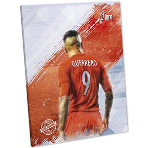 Cuaderno Deluxe 88 Hojas Rayado Con Diseño Paolo Guerrero Loro