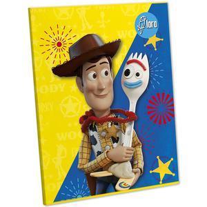 Cuaderno Deluxe 88 Hojas Rayado Con Diseño Toy Story Loro
