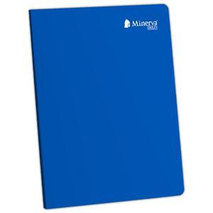 Cuaderno Deluxe A-4 92H Triple Renglón Con Sombra Scolor Minerva Azul