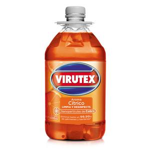 Desinfectante Virutex Aroma Citrico Bot C/Asa X 4000Ml