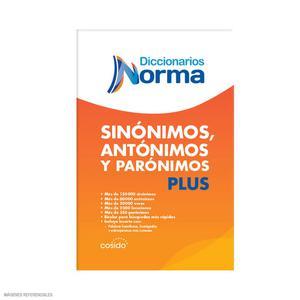 Dicc Sinon Antonim Y Paronim Td Norma Tl