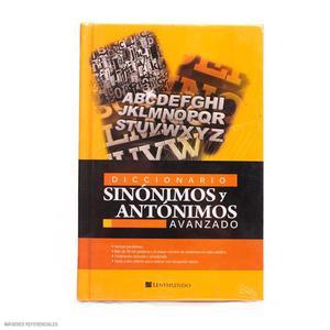 Diccionario Sinónimos Y Antónimos Unimundo