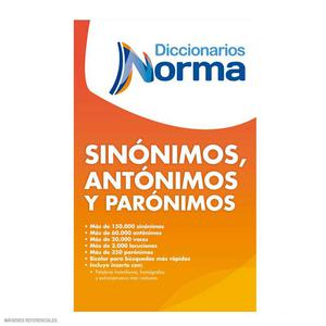Diccionario Sinónimos Antónimos Y Parónimos