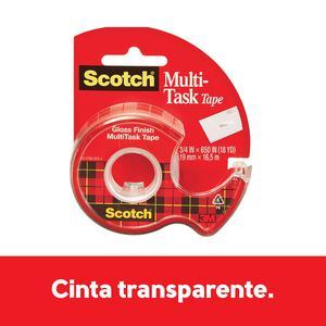 Dispensador Cinta Cristal Transparente Scotch 3M