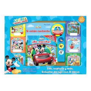Estuche De Lujo 8 Libros Mickey