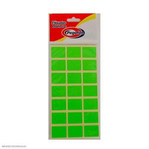 Etiqueta Autoadhesiva Sobre X 100 Verde Pegafan