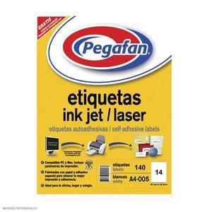 Etiqueta Pegafan Imp A4-5 3899 2Fil(Pqtx140) 014001427