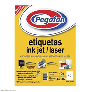 Etiqueta Pegafan Imp A4-6 144X200 (Pqtx100)  014001430