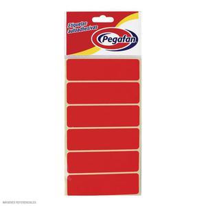 Etiqueta Para File Rojo Fosforescente